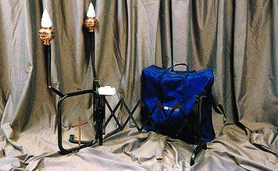 Catafalque accordéon Black Nichel