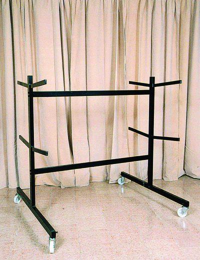 Exhibidor para ataúdes de 3 niveles doble